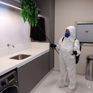 Limpeza e Desinfecção de escritórios